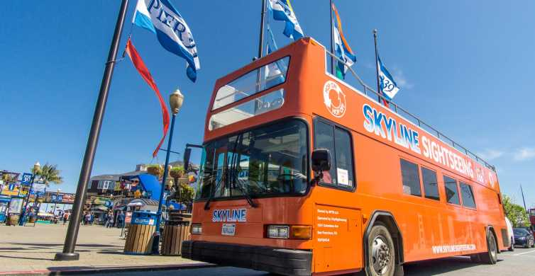 San Francisco: 1-Day Hop-On Hop-Off City and Sausalito Tour