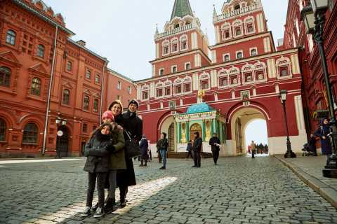 Moscow: Guided Private Photoshoot Tour