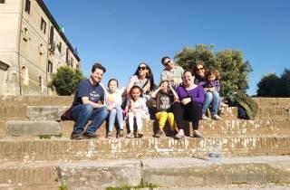 Ab Hafen Civitavecchia: Landausflug nach Rom für Familien