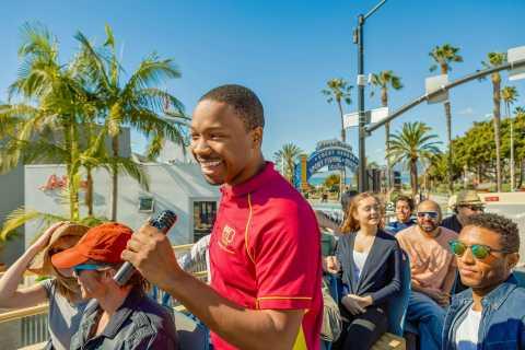 Los Angeles: Hop-on hop-off sightseeing rundtur i stor buss