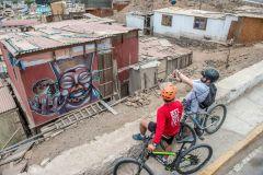 Lima: passeio de bicicleta pela cidade e pela cultura costeira com um morador