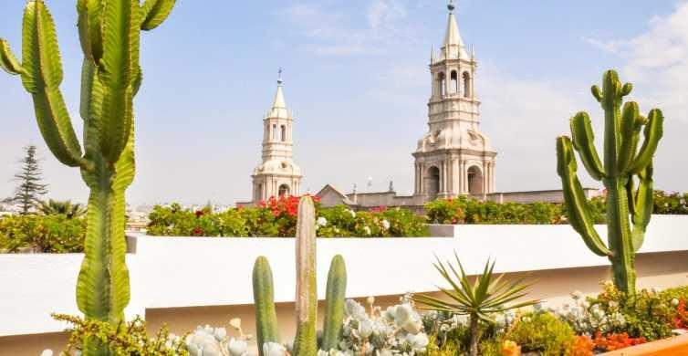 Arequipa: Visite guidée de la ville et du monastère Santa Catalina