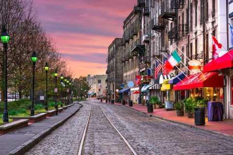 Savannah: Comedy Trolley Tour