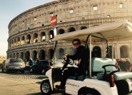Rom: Kleine Gruppe Golf Cart Highlights Tour