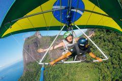 Rio de Janeiro: Voo Duplo de Asa-Delta