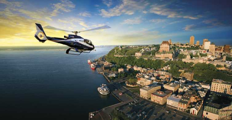 Quebec City: 15, 30, or 45-Minute Scenic Helicopter Tour