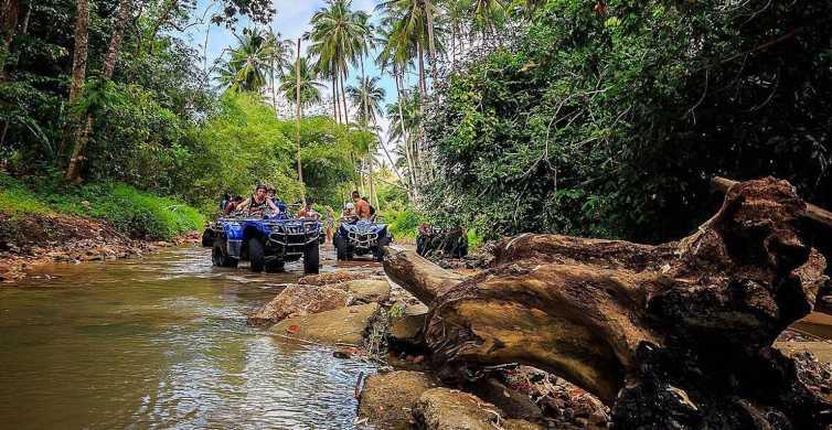Koh Samui: tour safari in quad