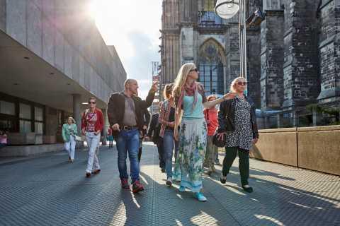 Cologne: visite guidée des points saillants avec un local