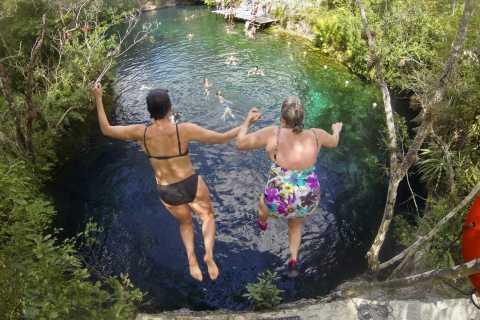 Desde Tulum: Aventura de los Cuatro Cenotes.