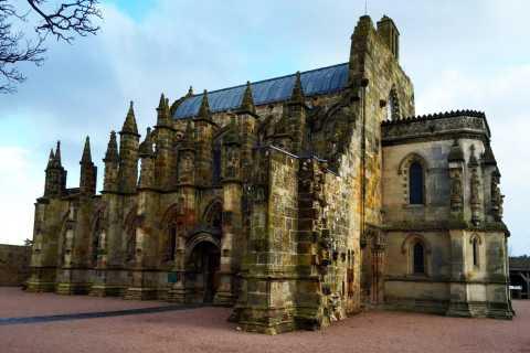 Da Edimburgo: Cappella di Rosslyn e tour di Sant'Andrea in spagnolo