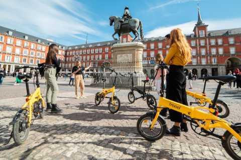 Madrid: medio día por la ciudad y parques en bici eléctrica