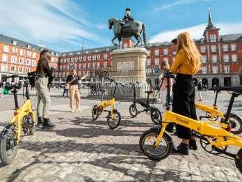 Madrid: Halbtägige E-Bike-Stadt- und Park-Tour