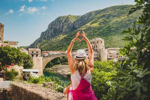 Mostar and Kravice Waterfalls Full-Day Tour from Split