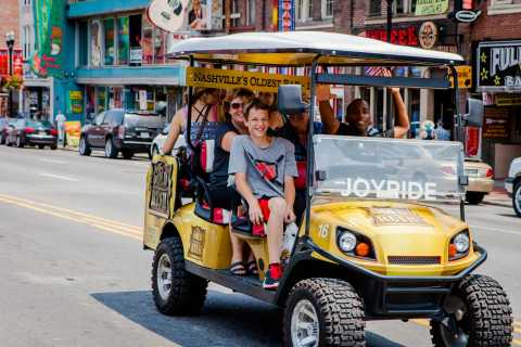 Nashville: Sightseeing Cart Tour