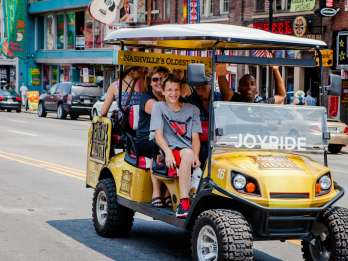 Nashville: Sightseeing Cart Tour