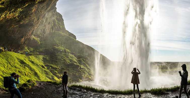 Island: Südküste, Schwarzer Strand & Wasserfälle - Tagestour