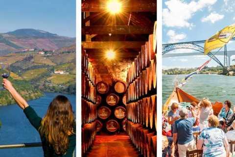 Do Porto: Douro Tour, cruzeiro no rio Douro, visita à adega