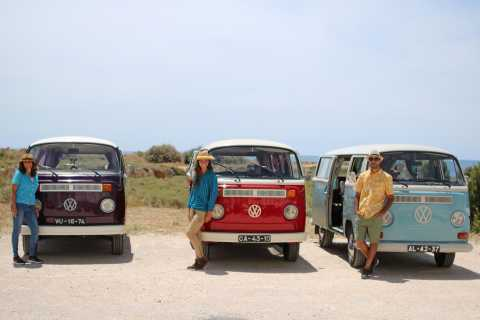 From Albufeira and Vilamoura: Algarve Coast Tour in a VW T2