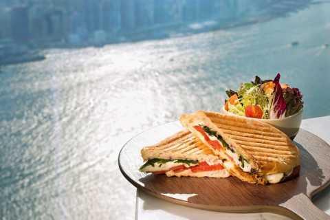 Hongkong: Kombipaket Aussichtsplattform Sky100 mit Speisen