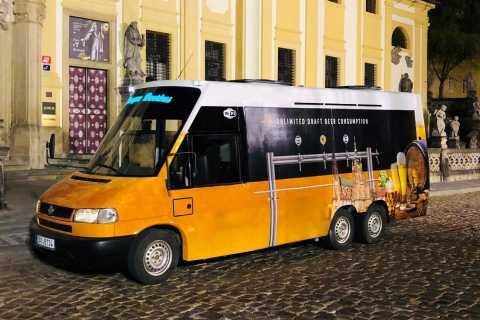 Prag: Ölbuss Flygplatstransfer