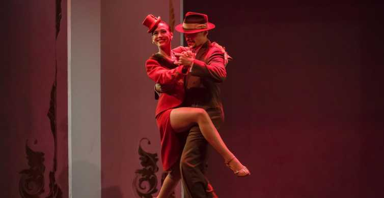 Café de Los Angelitos Tango Show with Optional Dinner