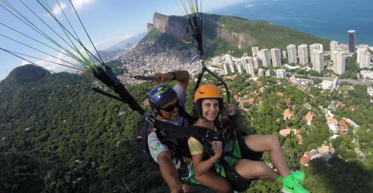 Rio de Janeiro: Tandem Paragliding Flight
