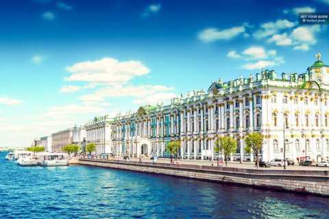 St. Petersburg: Eremitage & Metro Privattour ohne Anstehen