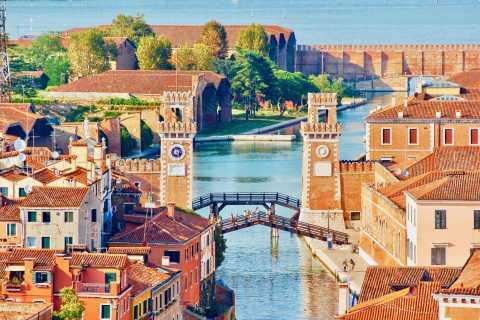 Pavilhão de navios venezianos e Castello: passeio a pé privado