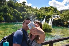 De Split: Excursão ao Parque Nacional de Krka e Cachoeiras