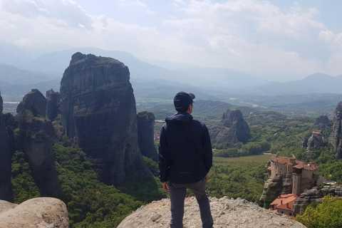 From Kalambaka or Kastraki: Afternoon Meteora Tour