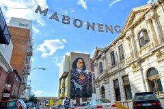 Joanesburgo: Tour a Pé em Maboneng