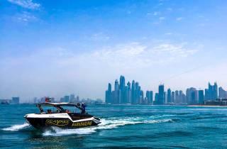 Dubai: Parasailing & Bootstour am JBR Beach