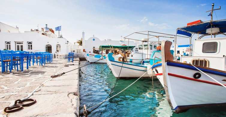 From Naxos: Independent Day Trip to Paros Island