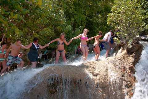Jamaica: Dunn's River Falls, 9 Mile and Optional Lagoon Tour