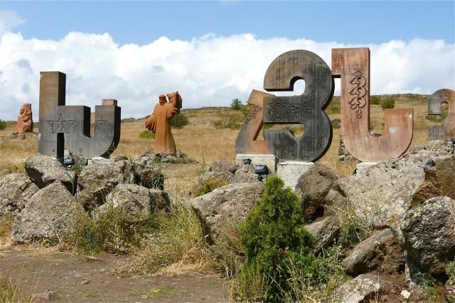 Dagtocht: Mt. Aragats, alfabet, stenen beelden en fort