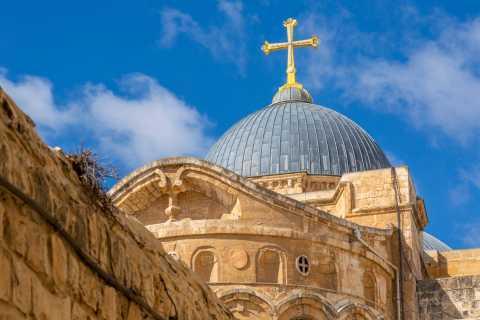De Tel Aviv ou Jerusalém: Excursão a pé de 3 horas em Jerusalém