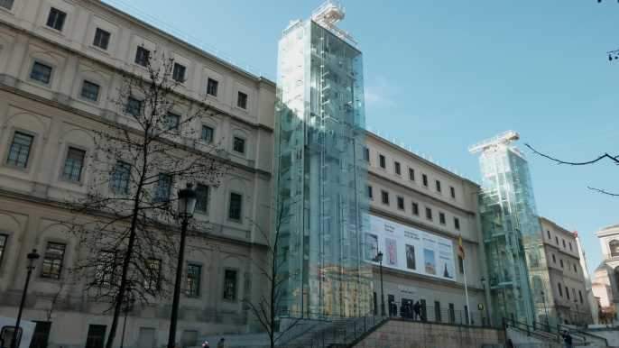Ticket de entrada sin colas al museo Reina Sofía de Madrid