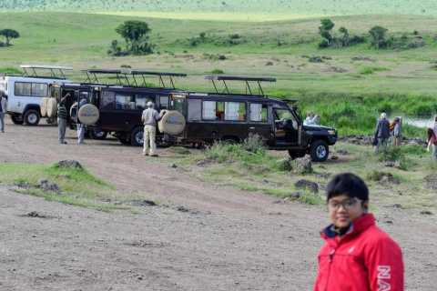 From Arusha: Ngorongoro Crater with Nature Tour and Lunch