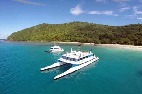 Od Fajardo: całodniowa Culebra Islands Katamaran Tour