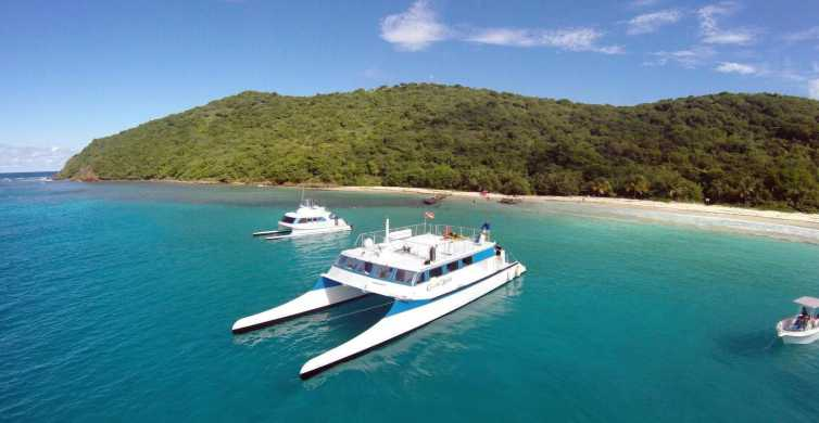 From Fajardo: Full-Day Culebra Islands Catamaran Tour