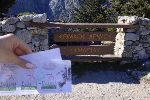 From Georgioupolis: Roundtrip Transfer to Samaria Gorge