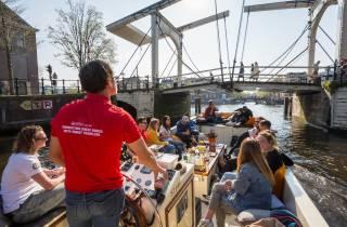 Amsterdam: Tour zu den Highlights per Boot