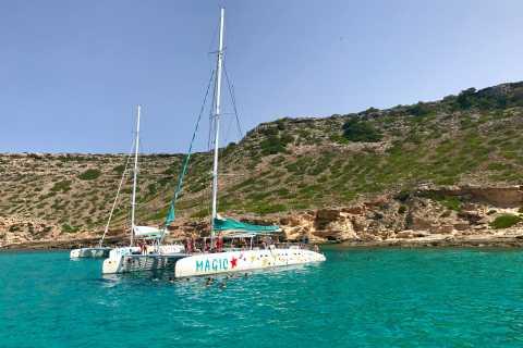 Desde Palma de Mallorca: crucero de cinco horas en catamarán