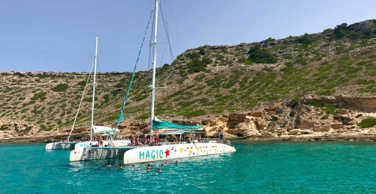 From Palma de Mallorca: 5-Hour Catamaran Cruise