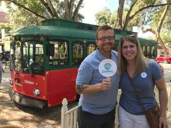 Sarasota: 90-minütige Stadtbesichtigungs-Trolley-Tour