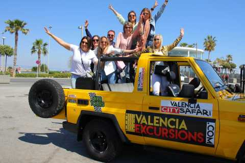 Valencia: City Highlights Tour in Jeep with Snacks & Drinks