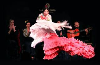 Valencia: Flamenco-Show mit Abendessen im La Bulería