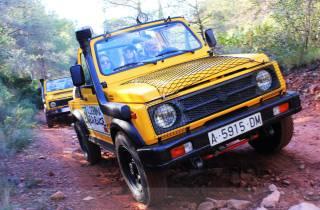 Valencia: Abenteuerliche Jeep-Safari in den Bergen