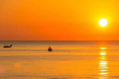 Rimini: Papaya Beach with Sunbed, Umbrella, Drink and Music