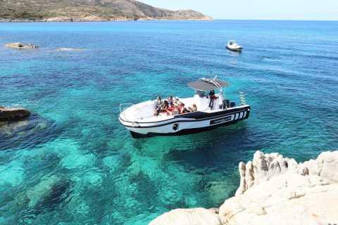 Ab Calvi: Sonnenuntergangs-Bootstour zur Revellata-Halbinsel